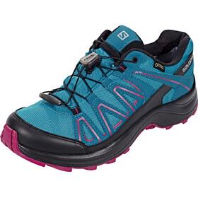 Salomon XA Centor GTX Running Shoes Women Tahitian Tide/Deep Lagoon/Sangria